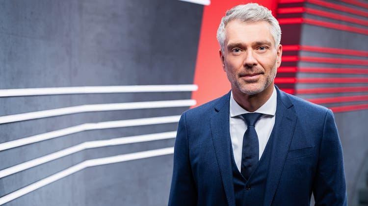 Heftige Reaktionen: Sandro Brotz, der Moderatorder «Arena». (Srf / SRF)