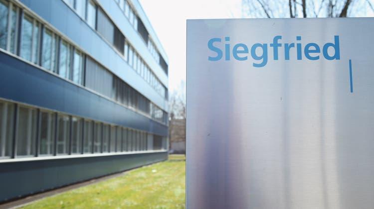 Wurde zum Ziel eines Cyberangriffs: Die Siegfried Gruppe mit Sitz in Zofingen. (Raphael Hünerfauth)