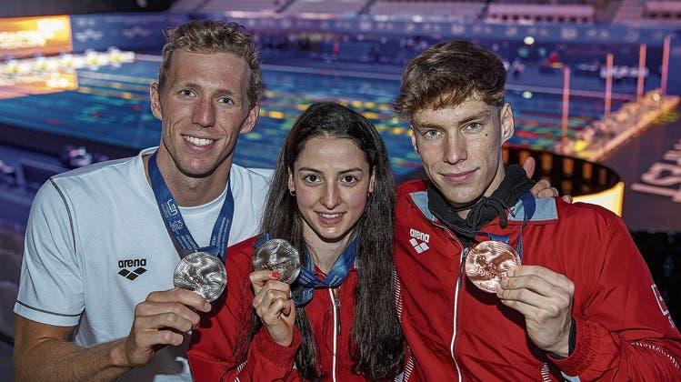 Schwimmnation Schweiz: Die Athletinnen und Athleten von Swiss Aquatics brillierten in Budapest