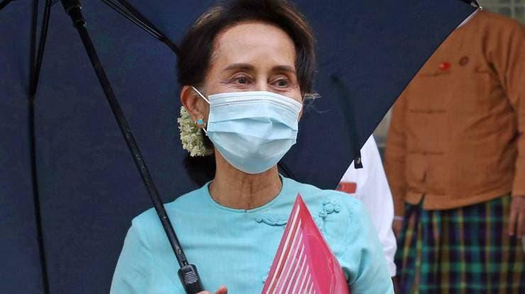 Suu Kyi wurde sei dem Umsturz nicht mehr öffentlich gesehen. (Archivbild) (Foto: Keystone)