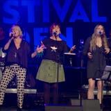 Caruso & Friends: Die Sängerinnen Claudia Piani, Gigi Moto, Nana Caruso und Sandra Rippstein. (Samuel Amsler)