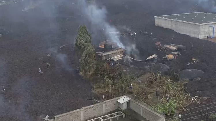 Vulkanausbruch im Kongo– Lage angespannt