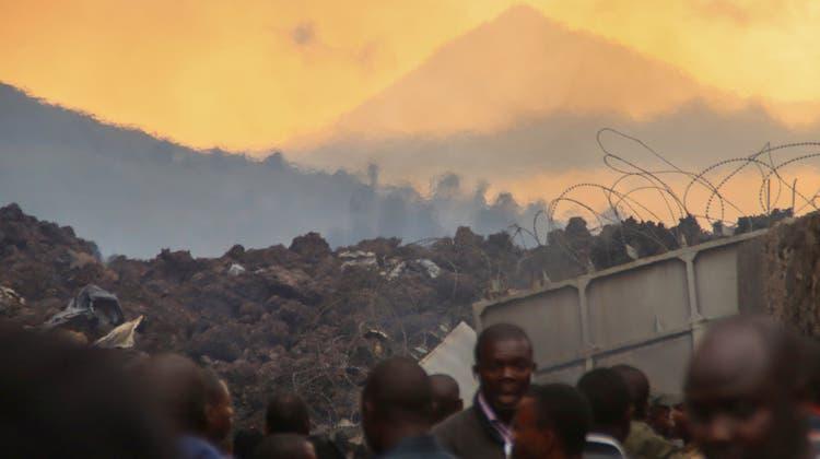 Rund 250 Menschen wurden bei dem Ausbruch getötet. (Foto: Keystone)