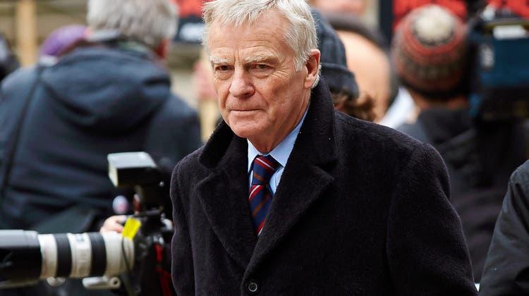 24. Mai 2021.Der frühere Automobil-Weltverband-Präsident Max Mosley ist im Alter von 81 Jahren gestorben. Er hatte die Formel 1 während Jahrzehnten geprägt. (Keystone (2012))