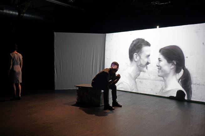 Proben zu «Das kleine Pony». Es spielen Susanne Odermatt und Julius Griesenberg.