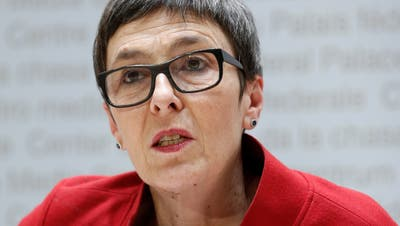 Barbara Gysi, St.Galler SP-Nationalrätin. (Bild: Peter Klaunzer / KEYSTONE)