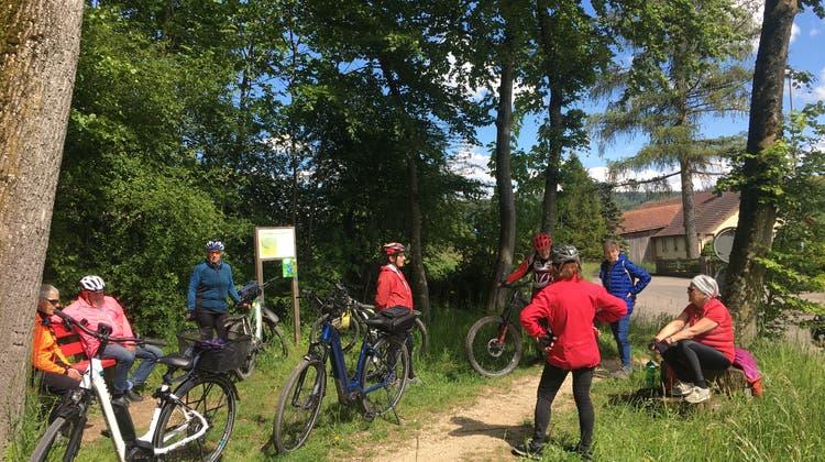 E-Bike-Herztouren Olten – Fahrt nach Pfaffnau