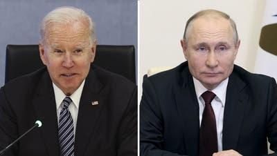 Der russische Präsident Wladimir Putin kommt im Juni nach Genf. (Sergei Ilyin / AP)