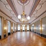 Der Belle-Epoque-Saal im Atrium-Hotel Blume ist wieder im Originalzustand um 1872. (Bild: zvg)