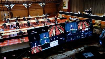 Am Mittwoch wählt das Kantonsparlament sein Präsidium neu. (Bild: Donato Caspari)