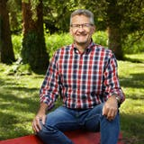 Hierher kommt er immer wieder gerne: Daniel Häfliger geniesst die Natur im Schönenwerder Ballypark. (André Albrecht)