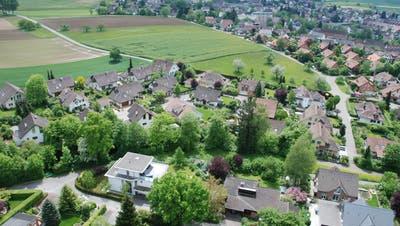 Ab kommenden Sommer soll das Baugebiet Leigrube erschlossen werden. (Zvg / Aargauer Zeitung)