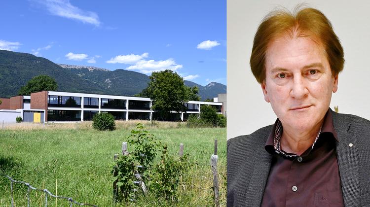 Hubert Bläsi, Gesamtschulleiter der Schulen Grenchen. (Oliver Menge)