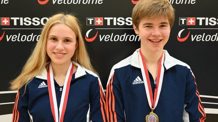 Zwei Goldmedaillen für den Trampolin-Club Waltenschwil