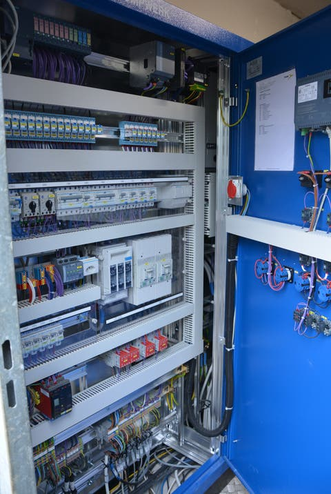 The new control system of the Schachen pumping station.