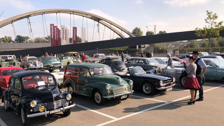 Historische Verkehrsschau oder wieder das Alternativprogramm eine Oldtimer-Rallye?