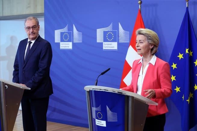 Kühl war die Atmosphäre schon, als Guy Parmelin im April in Brüssel war. Am Mittwoch wollte EU-Kommissionspräsidentin Ursula von der Leyen nicht einmal mit dem Schweizer Bundespräsidenten telefonieren.