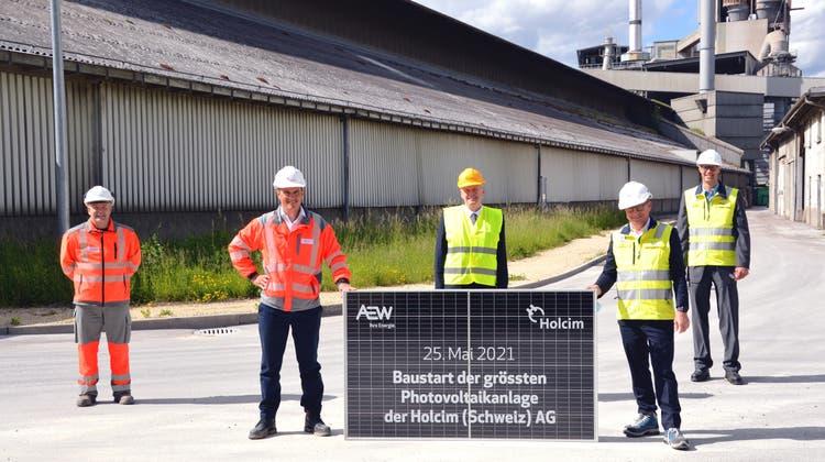 Über 6700 Solarmodule: Hier entstehteine der grössten Photovoltaikanlagen im Aargau
