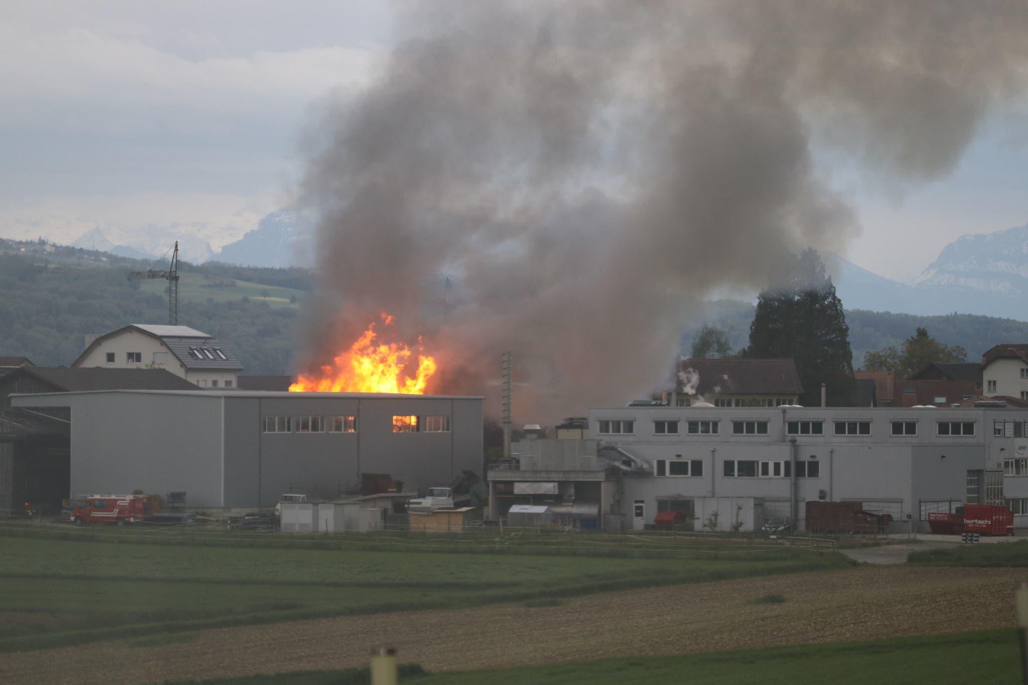 Das Gebäude gehört der Swiss Metall AG, die Teil der Bertschi-Gruppe ist.