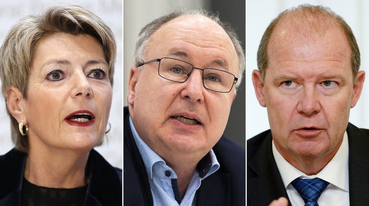 Die Luft ist draussen: Die Verhandlungen zwischen der EU und der Schweiz müssen neuen Schwung aufnehmen. (Peter Klaunzer / KEYSTONE)