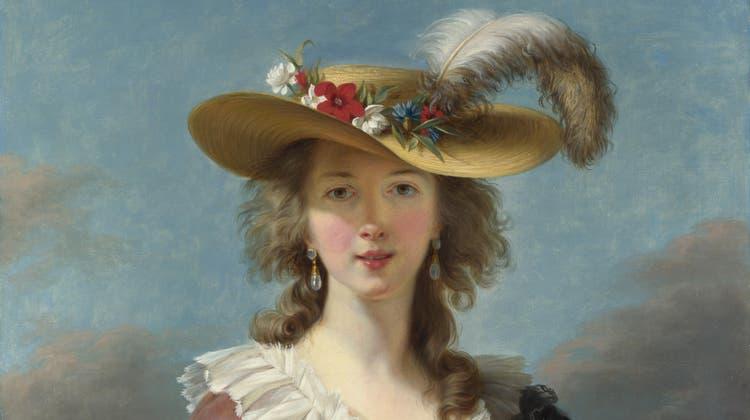 Das berühmteste ihrer vieler Selbstporträts: Louise-Élisabeth Vigée-Lebrun, 1782. Ein Jahr später wurde sie als erste Frau Mitglied der Académie. (National Gallery / London)