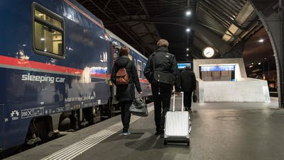 Das Nachtzug-Netz wird ausgebaut (Symbolbild). (Foto: Keystone)