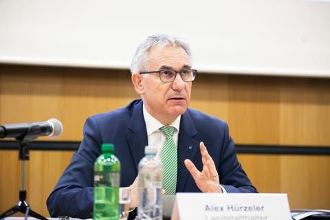 Bildungsdirektor Alex Hürzeler. Aufgenommen am 26.05.2021