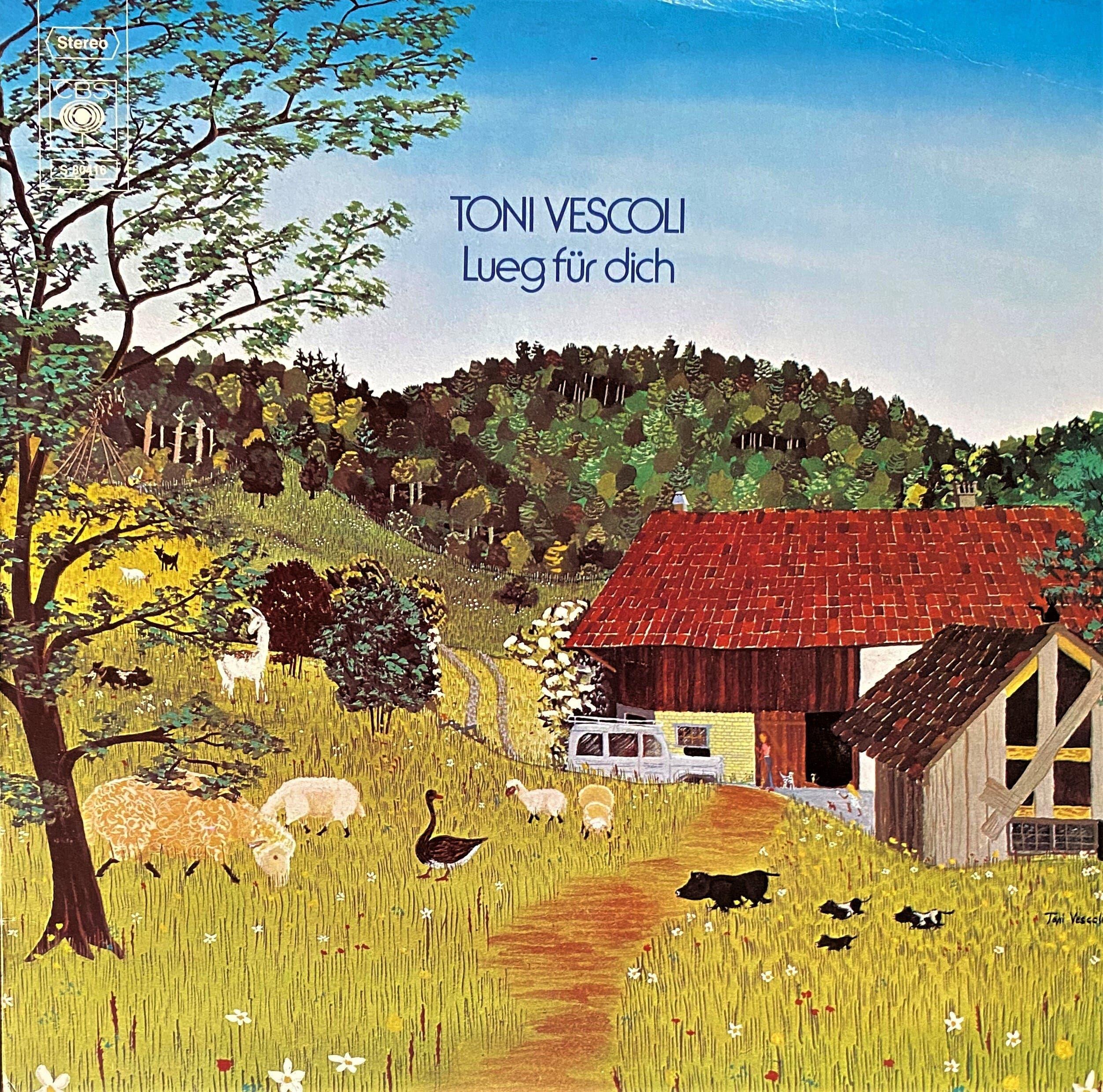 Toni Vescoli: Lueg für dich (Zürich 1974, Album)