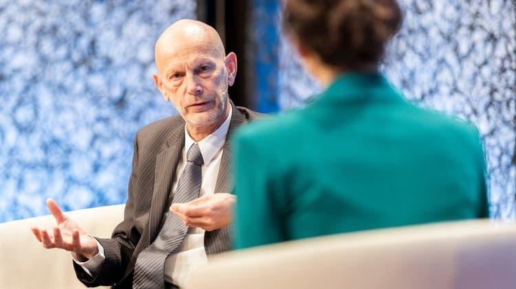 Er kommunizierte für den Bundesamt für Gesundheit zu Corona: Daniel Koch am SwissMediaForum, am 6. November 2020 im Lake Side Zürich. (Severin Bigler / SwissMediaForum)