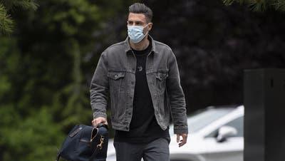 Zurück in der Nati: Die WM-Qualifikationsspiele im März verpasste Schär wegen seiner Knieverletzung. Nun ist er rechtzeitig zur EM wieder bereit. (Keystone)