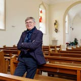 Präsident der Kulturstiftung und «Geburtshelfer» Joe Birchmeier in der Kultur-Kirche von Starrkirch-Wil. (André Albrecht)
