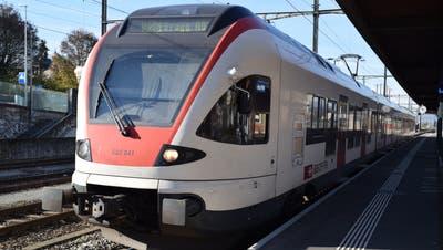 Für die S 25 zwischen Muri und Brugg, die sehr schlecht an das Busnetz angebunden ist, sind überhaupt keine Änderungen geplant. (Pascal Bruhin (2020))