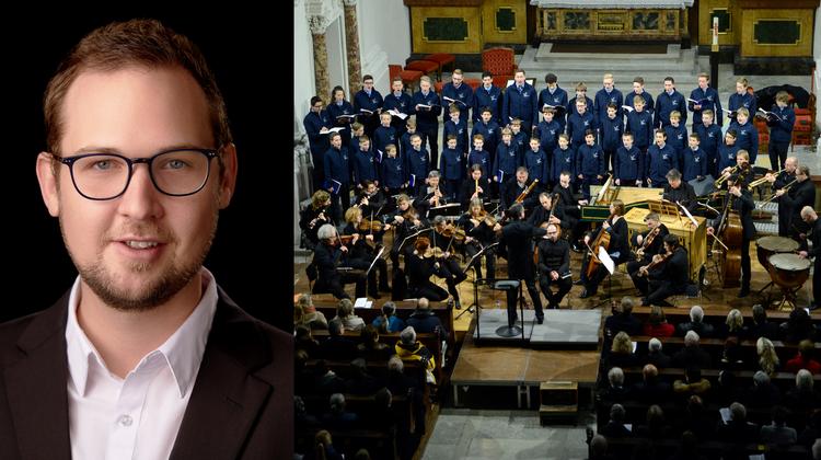 Tobias Stückelberger ist der neue Leiter der Solothurner Singknaben. (Zvg/Hansjörg Sahli)