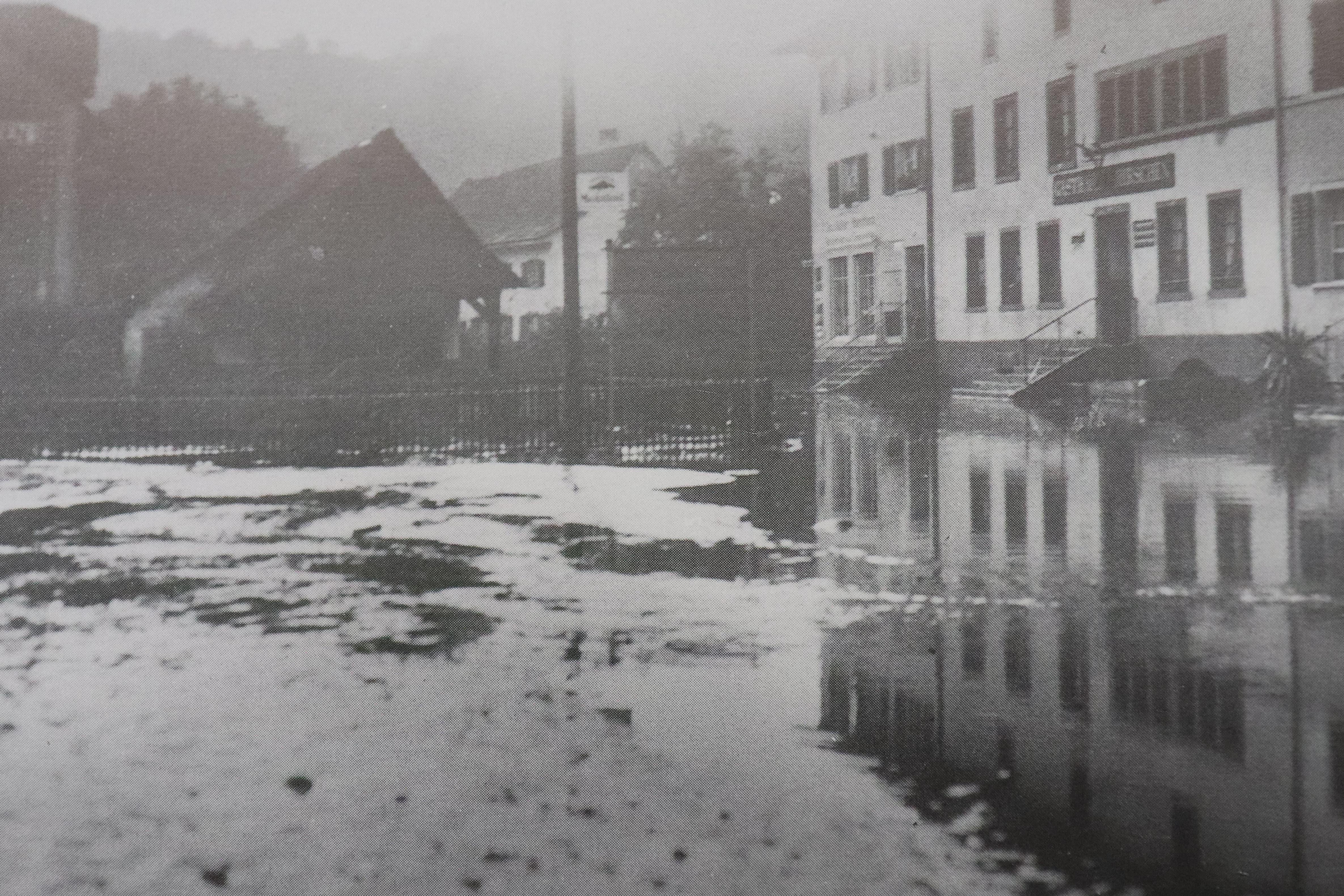 Vor 90 Jahren suchte ein heftiges Gewitter den Bezirk heim. Die Schäden waren verheerend.