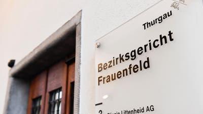 Eingang zum Bezirksgericht Frauenfeld an derZürcherstrasse 237a. (Bild: Donato Caspari)