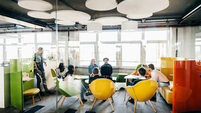 Schöne neue Arbeitswelt: Gleichviel Quadratmeter, mehrGemeinschaftsfläche. (Tom Werner / Digital Vision)