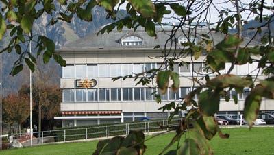 EWO Elektrizitätswerk Obwalden Hauptgebäude in Kerns. (Bild: PD)