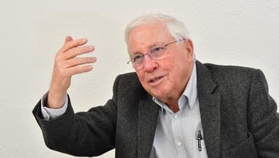 «Ein Triumph der Schweiz»: Altbundesrat Christoph Blocher. (Bruno Kissling)