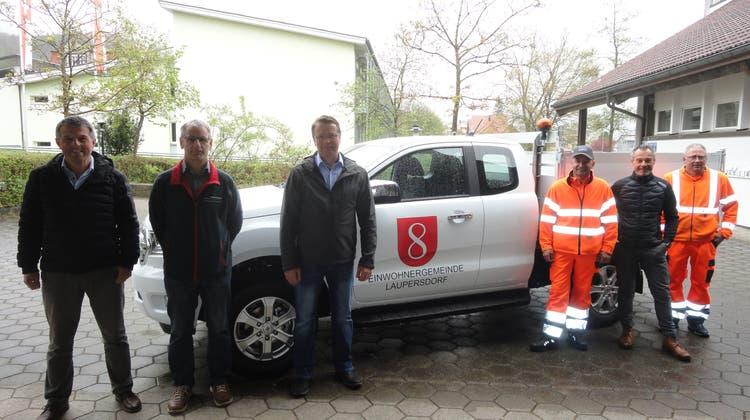 Werkhof Laupersdorf hat neues Gemeindefahrzeug übernommen