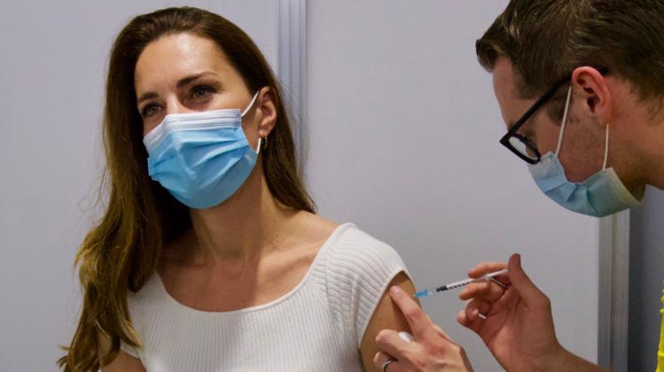 Herzogin Kate erhält erste Corona-Impfung