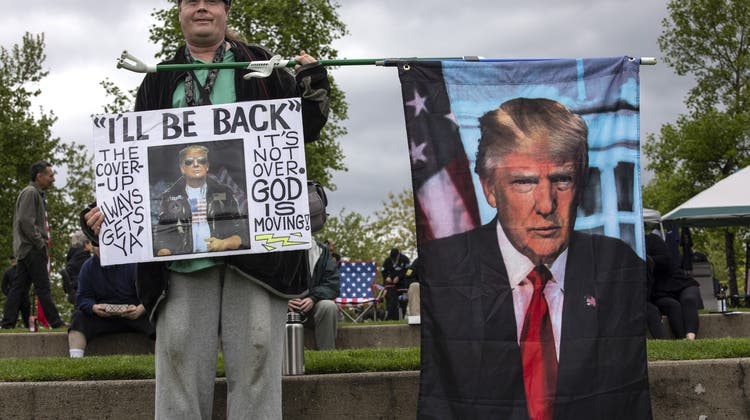 «Ich komme zurück»: Die Angst vor seiner Rückkehr hat Folgen. (Paula Bronstein / AP)