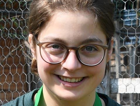 Malena Cradolfo Goldmedaillen-Gewinnerin
