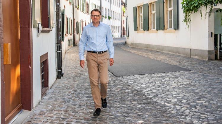 Der Basler Wirtschafts- und Sozialdirektor Kaspar Sutter. (Nicole Nars-Zimmer)