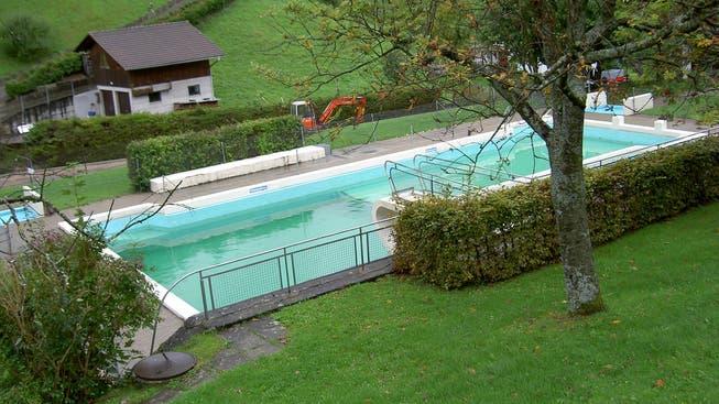 Die Badegäste müssen sich noch länger gedulden, bis das Waldenburger Schwimmbad heuer öffnet.