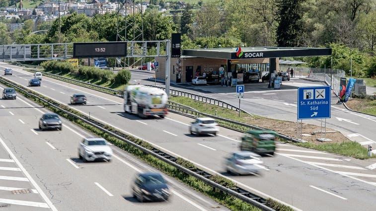 Sperrungen auf derA14zwischen Buchrain und Rütihof wegen Bauarbeiten