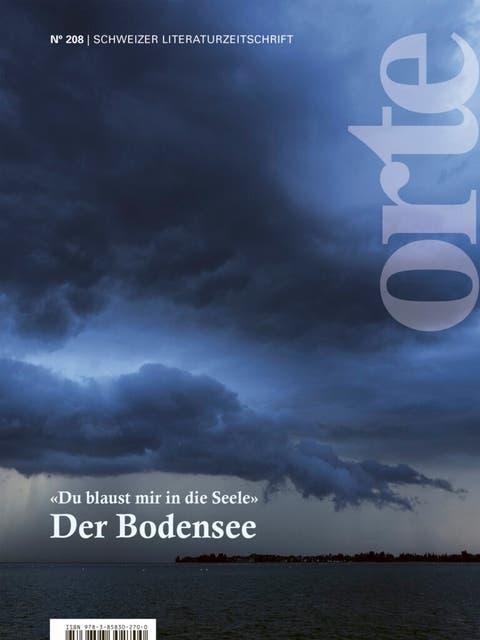 Die Aktuelle Orte-Ausgabe beinhaltet die Lyrik der Vorlesenden.