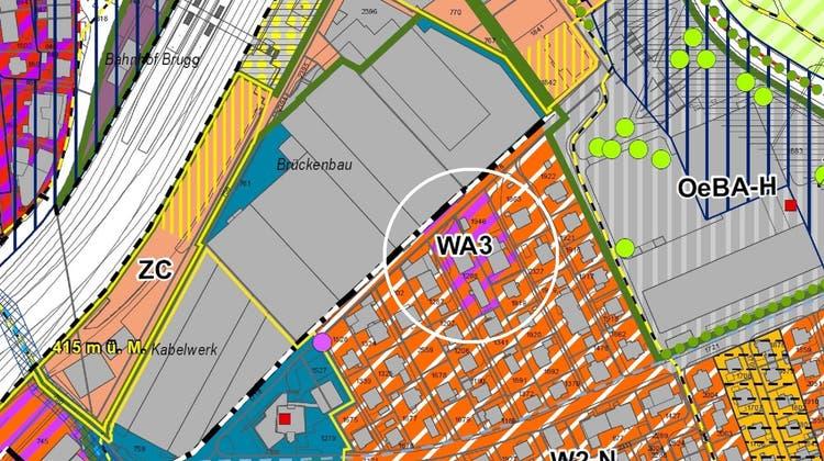 Mit der Revision der Nutzungsplanung hätte die Parzelleder Wohnzone 2 mit überlagerter Zone Nachverdichtung (W2-N) zugewiesen werden sollen. (Bild: zvg)