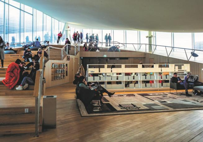 Illustrationsbild aus der Studie: Das Neue Luzerner Theater soll allen Luzernerinnen und Luzerner offen stehen und ein attraktiver Aufenthaltsort sein.