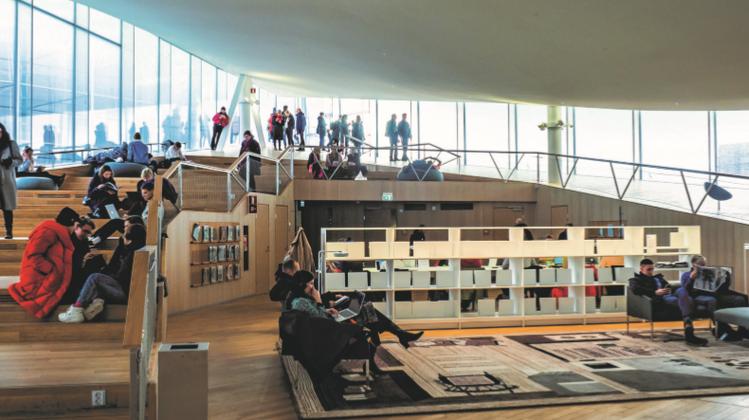 Illustrationsbild aus der Studie: Das Neue Luzerner Theater soll allen Luzernerinnen und Luzerner offen stehen und ein attraktiver Aufenthaltsort sein. (Bild: PD)