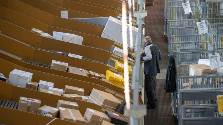 In der Coronakriseerlebte der Onlinehandel einen Boom. (Keystone)